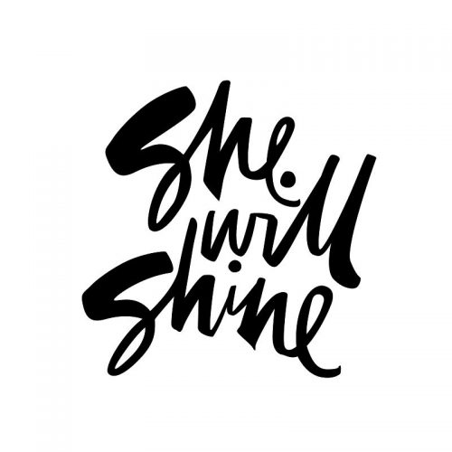 She Will Shine : Brand Short Description Type Here.